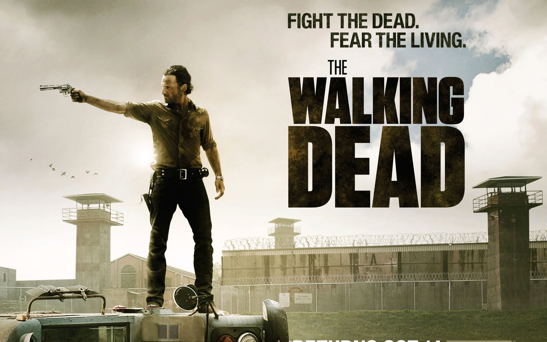 tv series outdoors man the walking dead