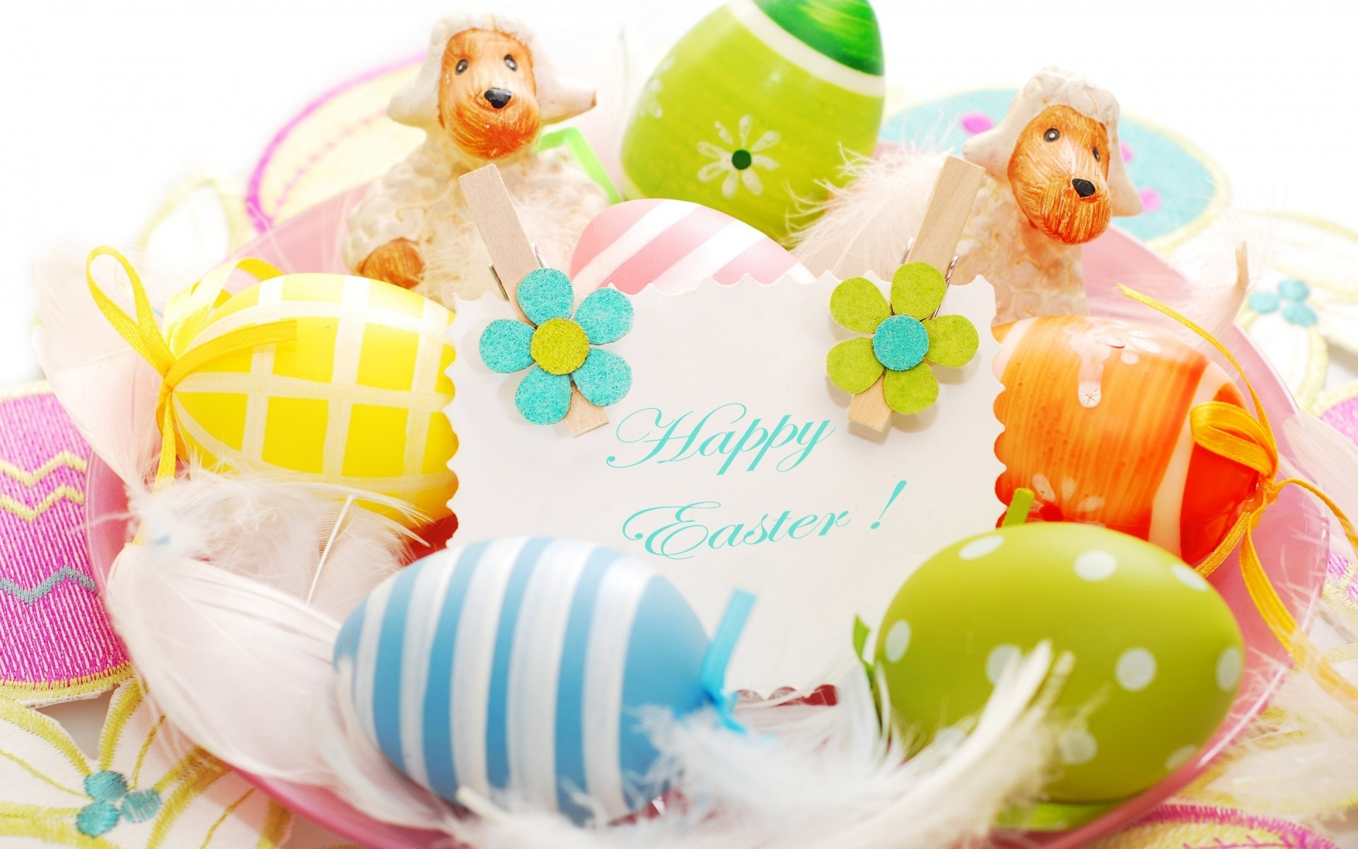 easter easter egg celebration egg bunny decoration rabbit fun traditional desktop flower gift thread color vacation 2014 easter easter eggs 2014 easter eggs
