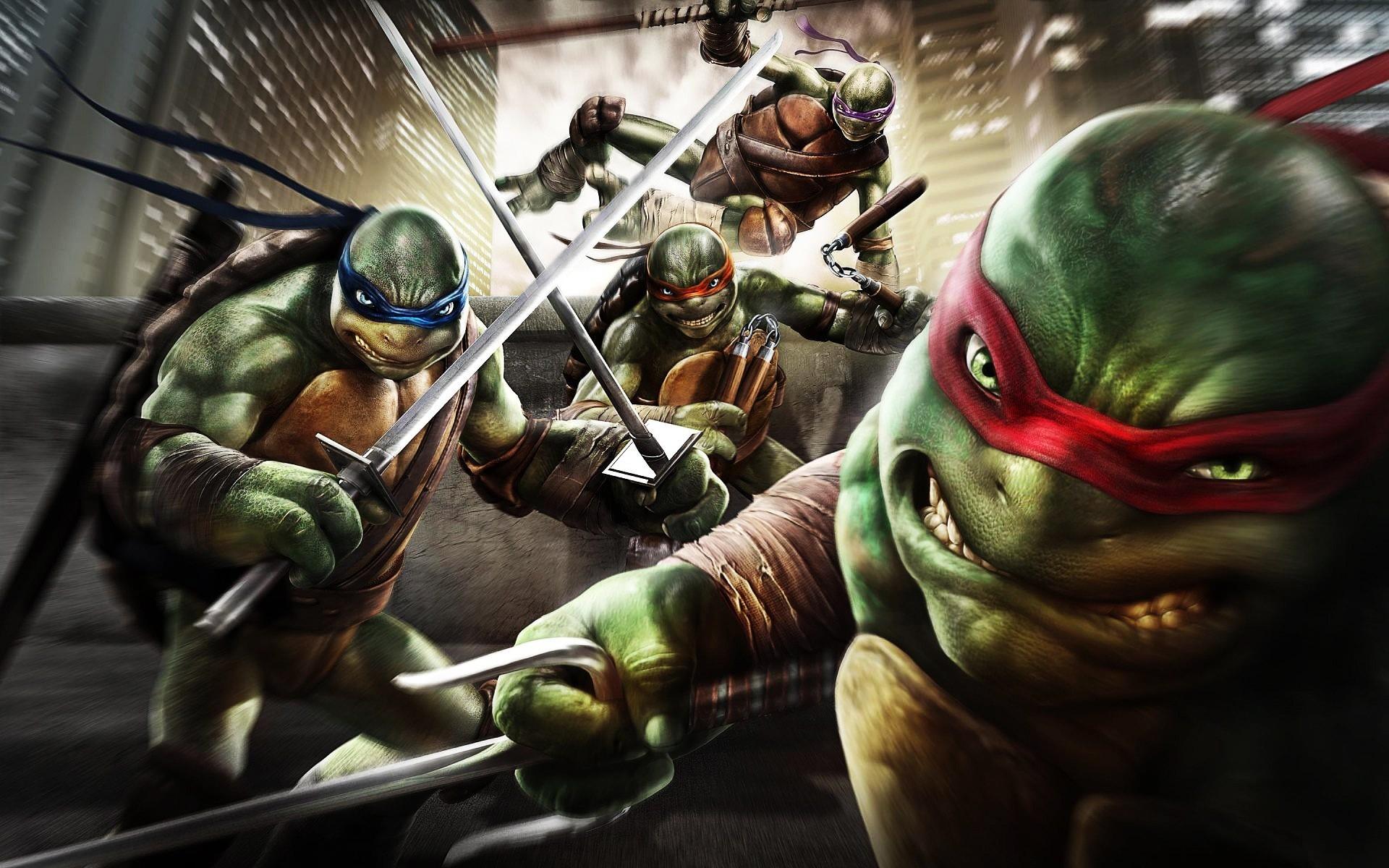 Teenage Mutant Ninja Turtles Out Of The Shadows Free Wallpapers