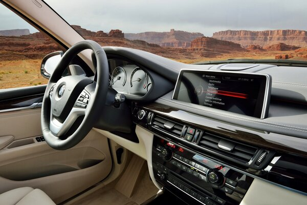 BMW X5 2014 Dashboard