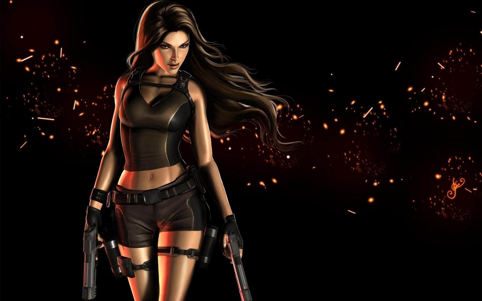 Lara Croft Wallpapers On Desktop