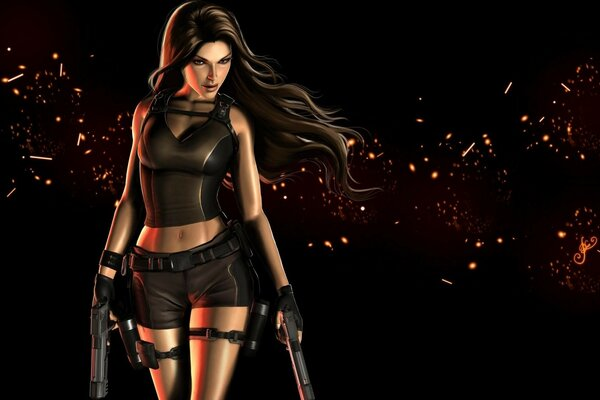 Lara Croft Tomb Raider Cool