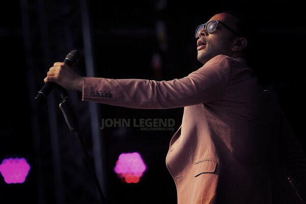 John Legend on Stage