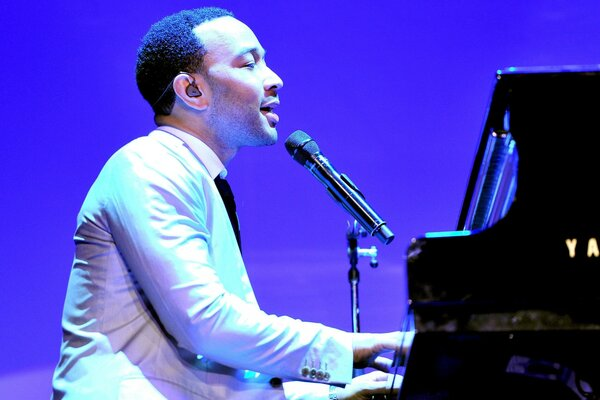 John Legend at Piano