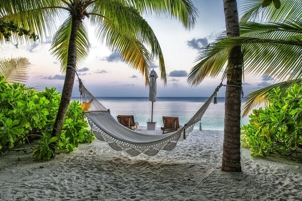 Beach Relaxing Corner