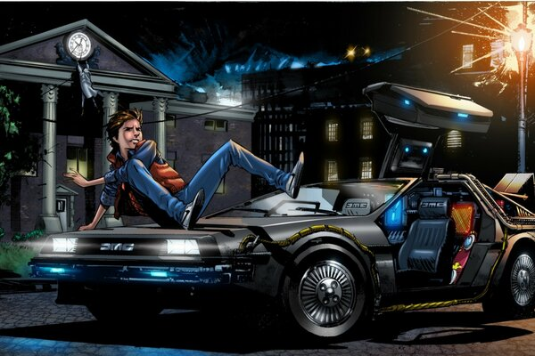Back to the Future 4 Art