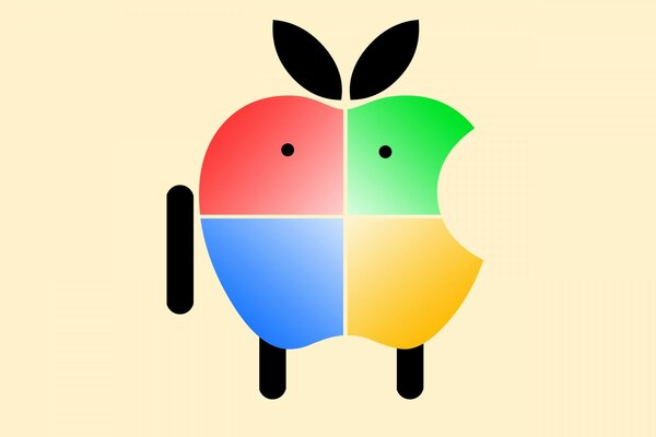 Apple Android Mascot