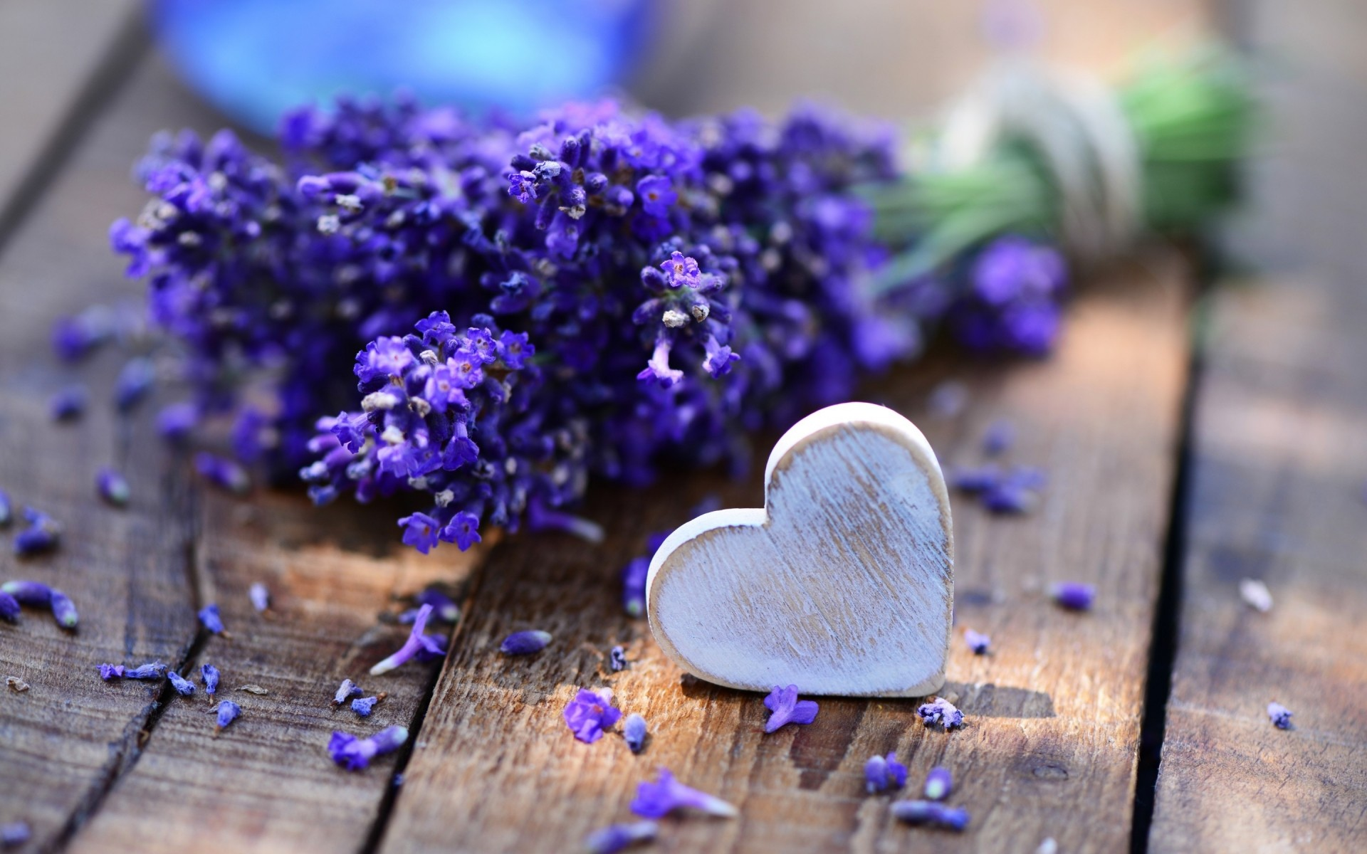 Lavender And Heart IPhone Wallpapers For Free