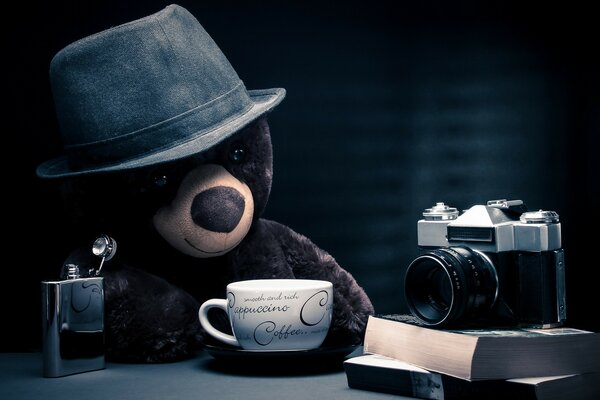 Coffee Time for Teddy Bear