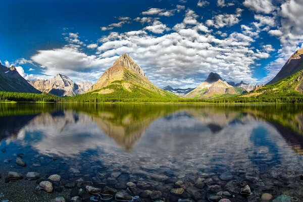 Beautiful Glacier National Park