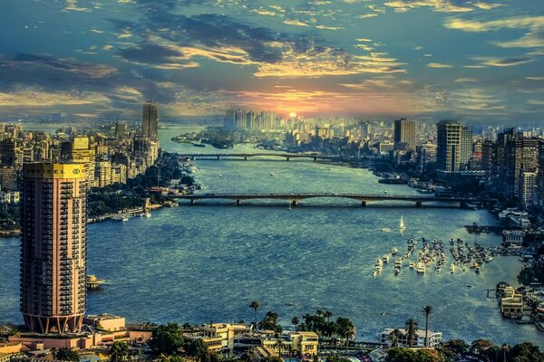 The River Nile in Cairo