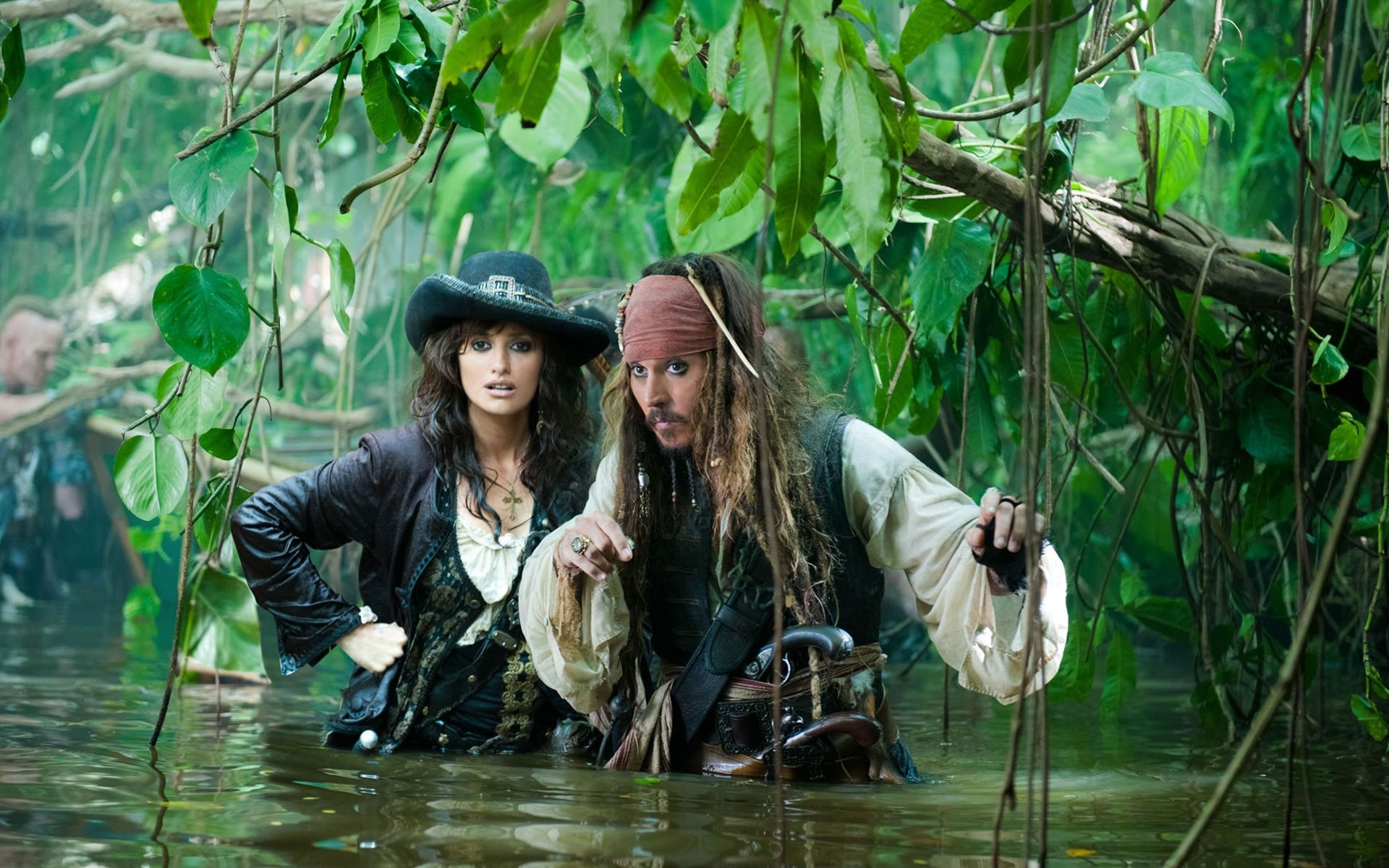 johnny Depp pirates of the Caribbean 4 Jack Sparrow