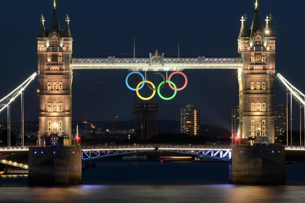 London Bridge 2012 Olympics