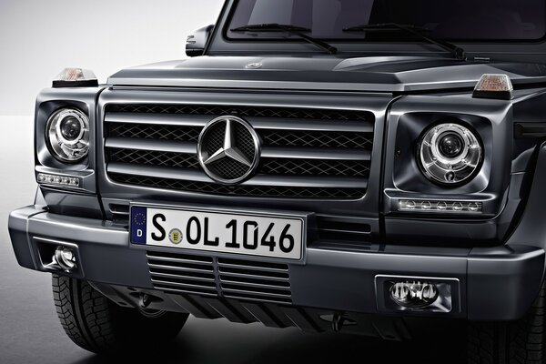 Beautiful Front of G Class