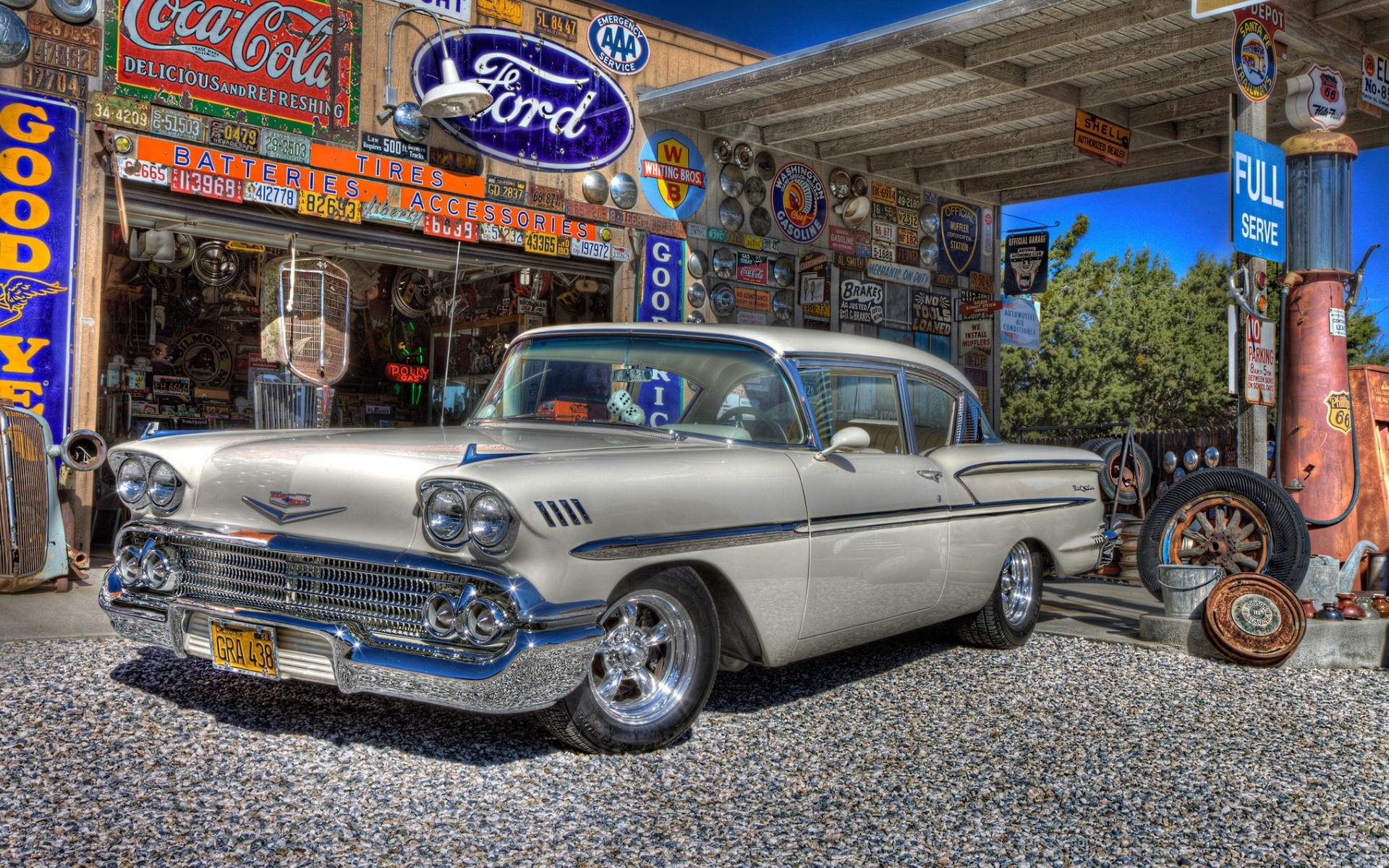 1958 Classic Chevy Android Wallpapers For Free