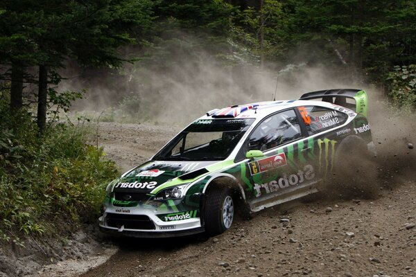 british rally monster Wrc ford focus