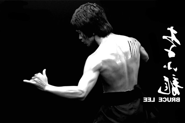 Bruce Lee Karate kung to Jeet actor legend of the sport