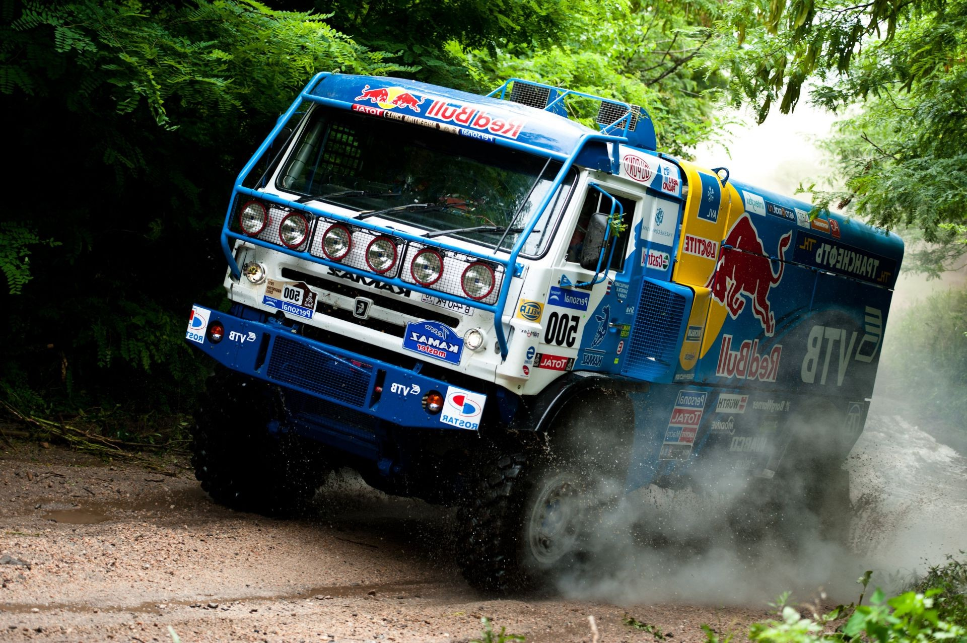 trucks rally vehicle race car competition hurry championship truck road fast transportation system action drive driver track dust