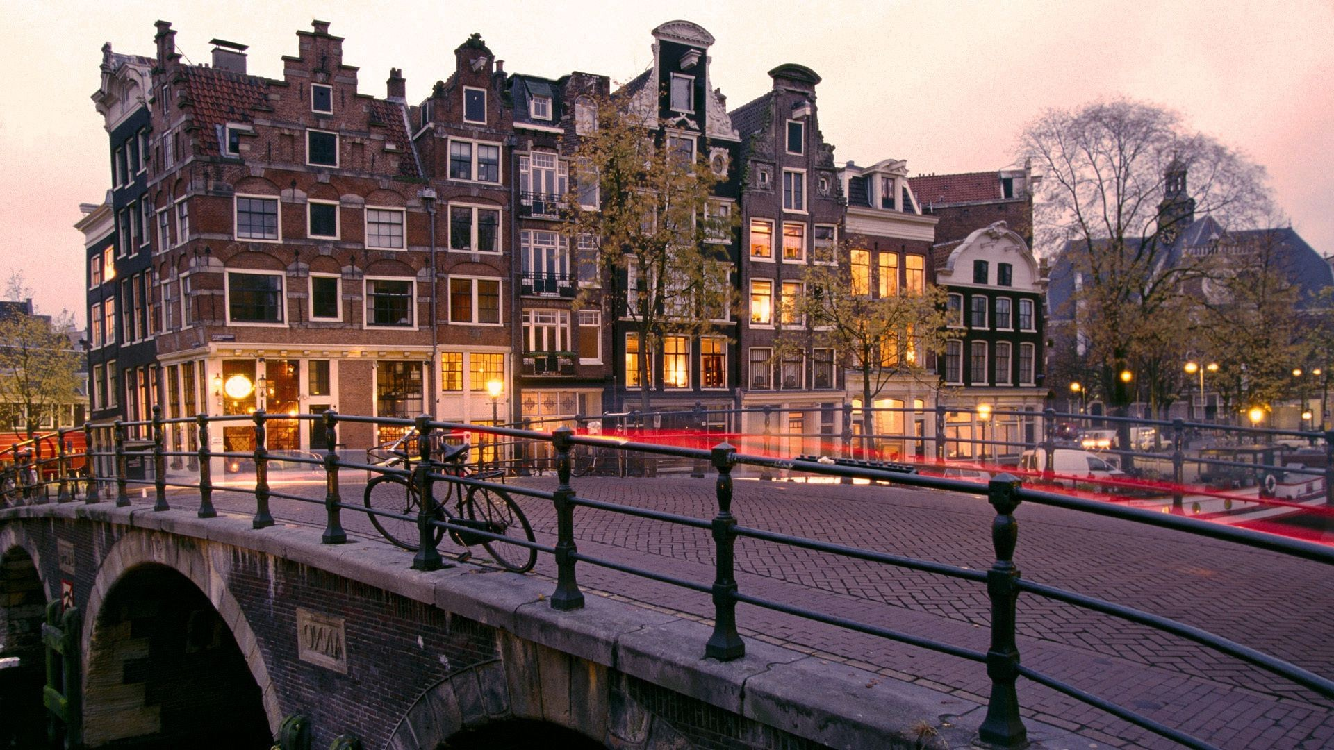 Prinsengracht and brouwersgracht canals, Amsterdam netherla