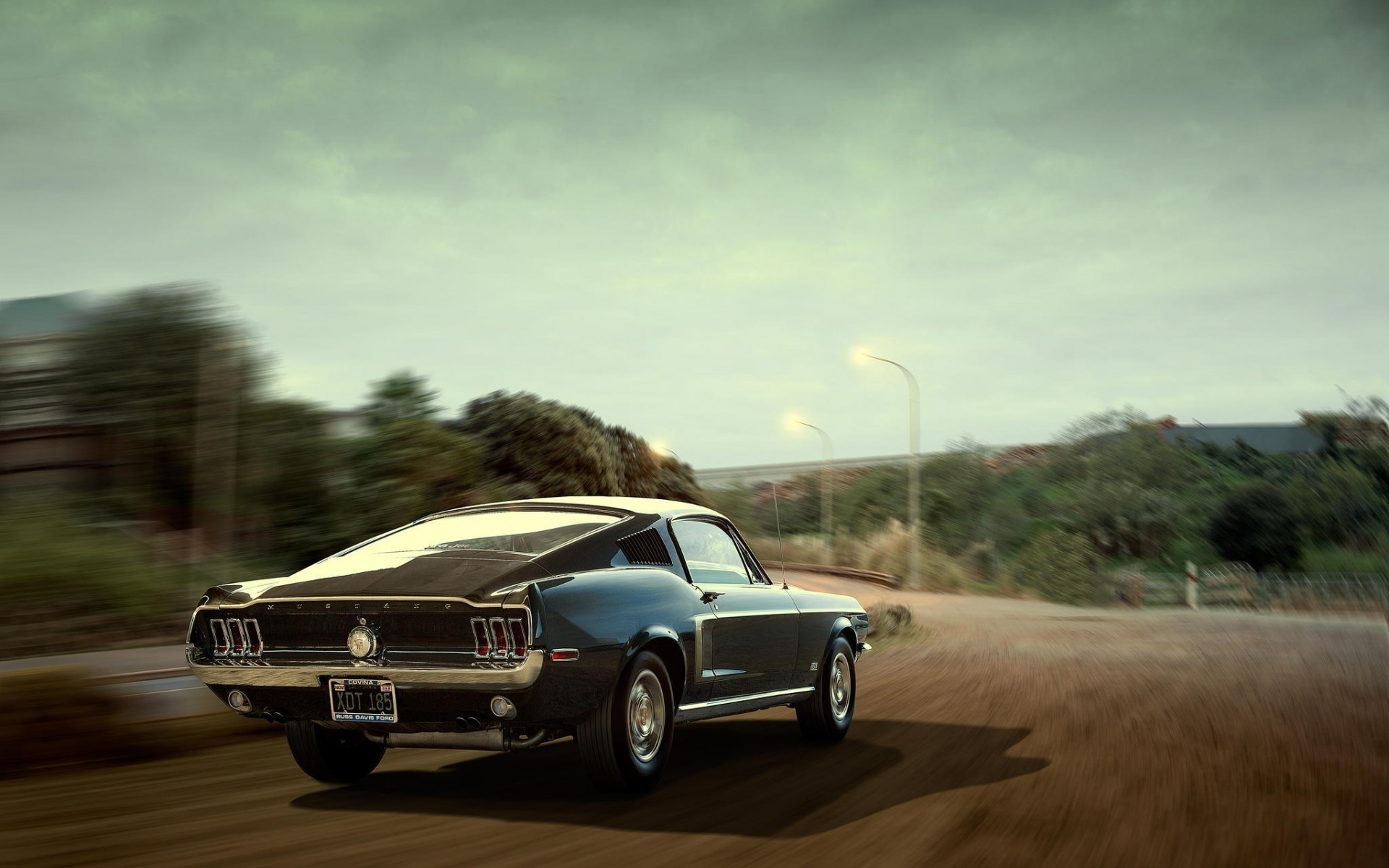 Stunning Old Mustang Android Wallpapers