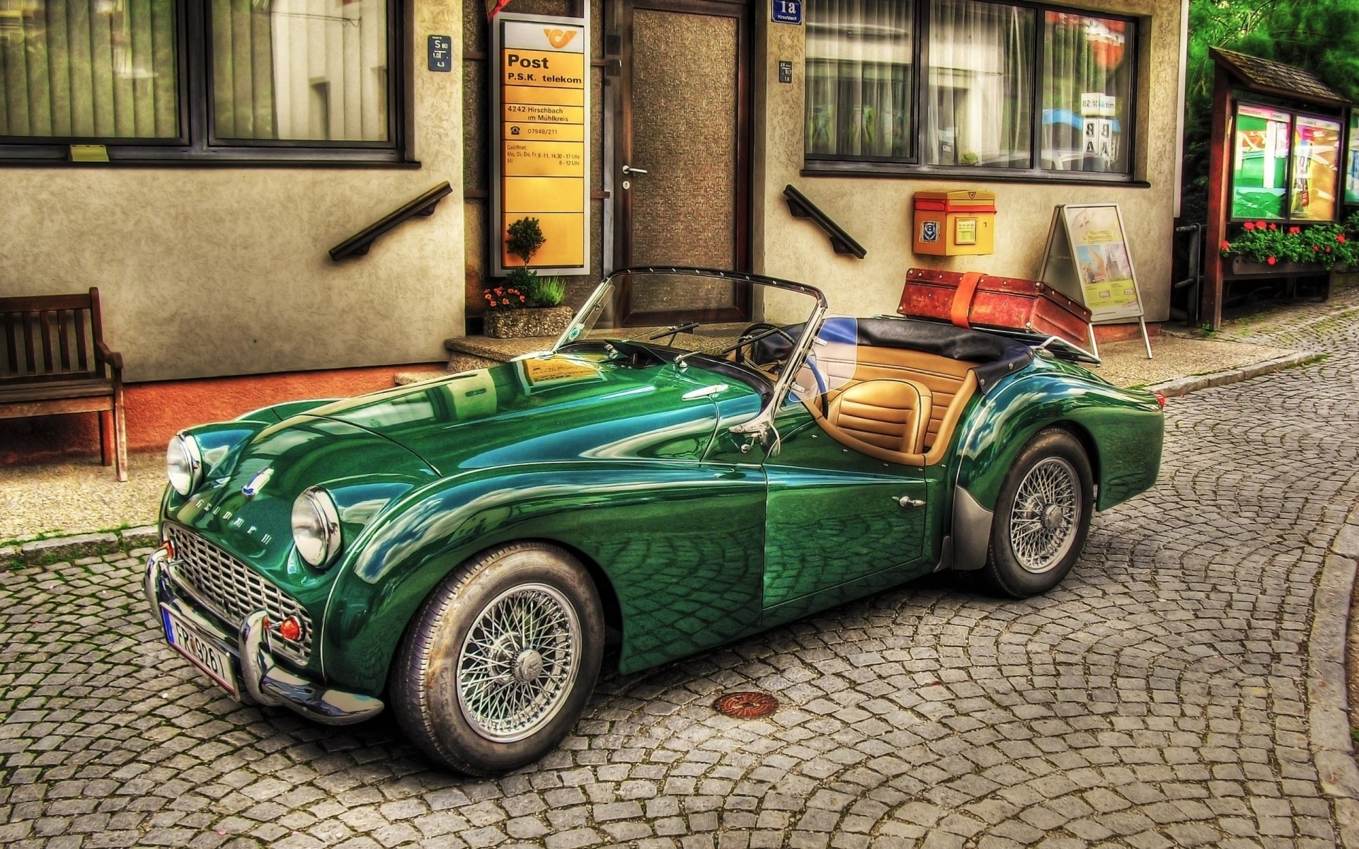 Old Green Car Iphone Wallpapers For Free