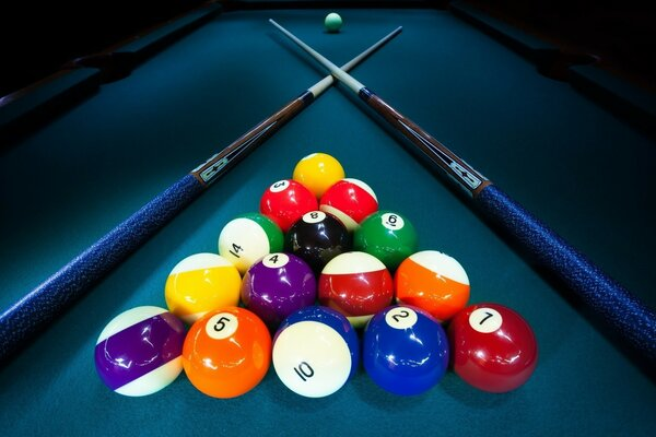Billiards Game Table