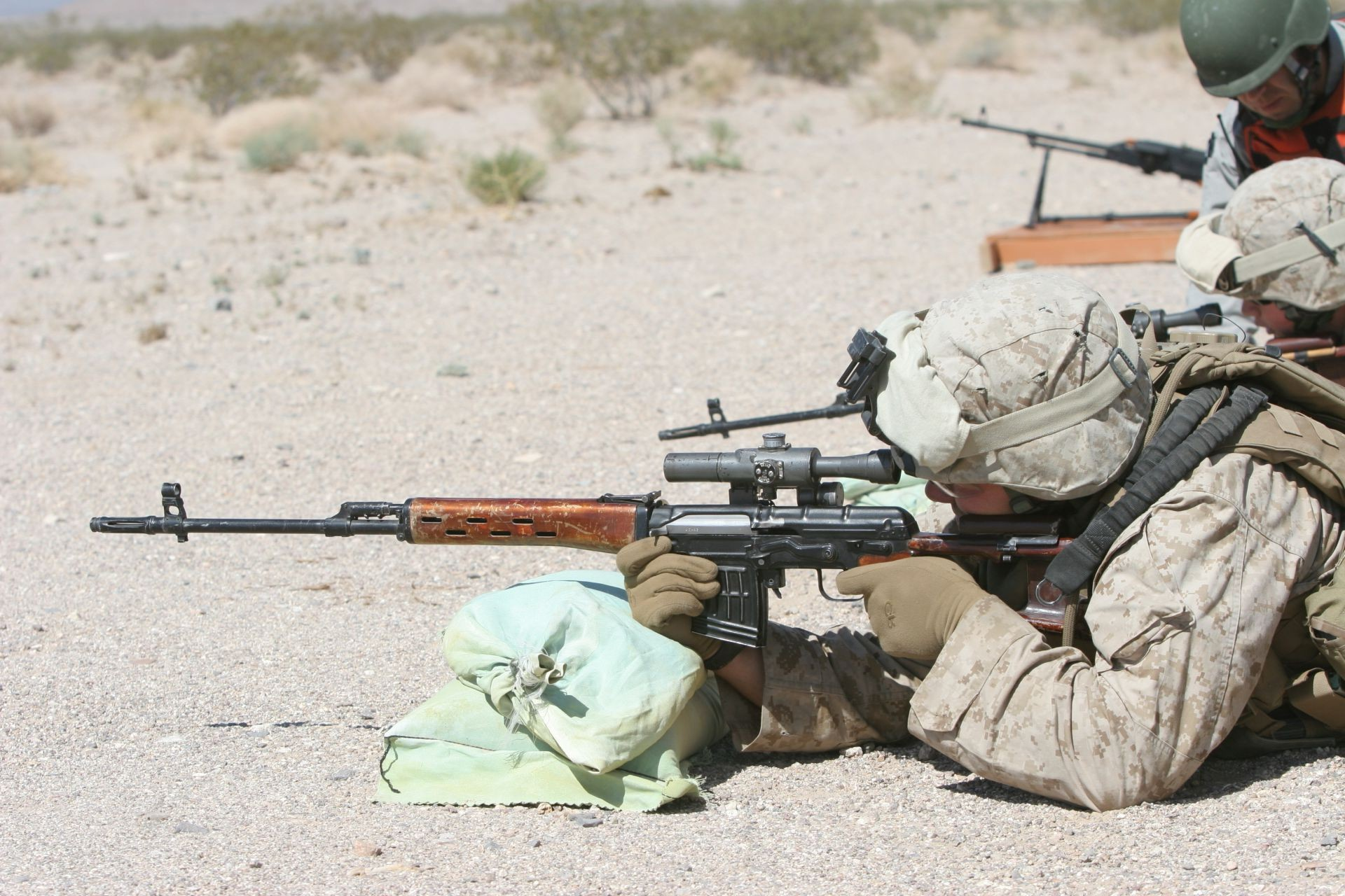 SVD of the American marine shooting