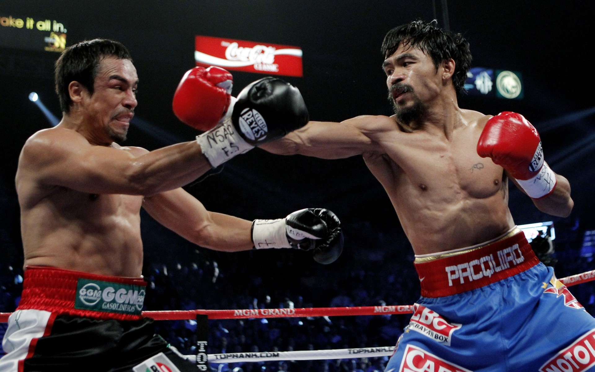 Manny Pacquiao Fighting IPhone Wallpapers For Free