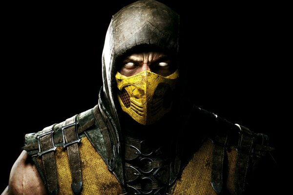 Mortal Kombat Yellow Scorpion