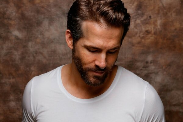 Ryan Reynolds White Tshirt