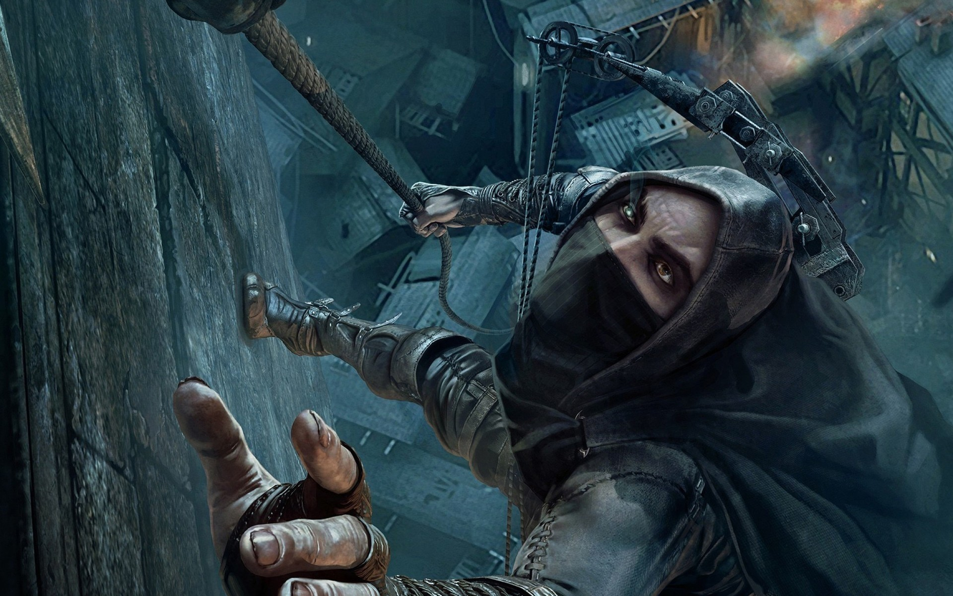 thief 2014 garrett. android wallpapers for free.