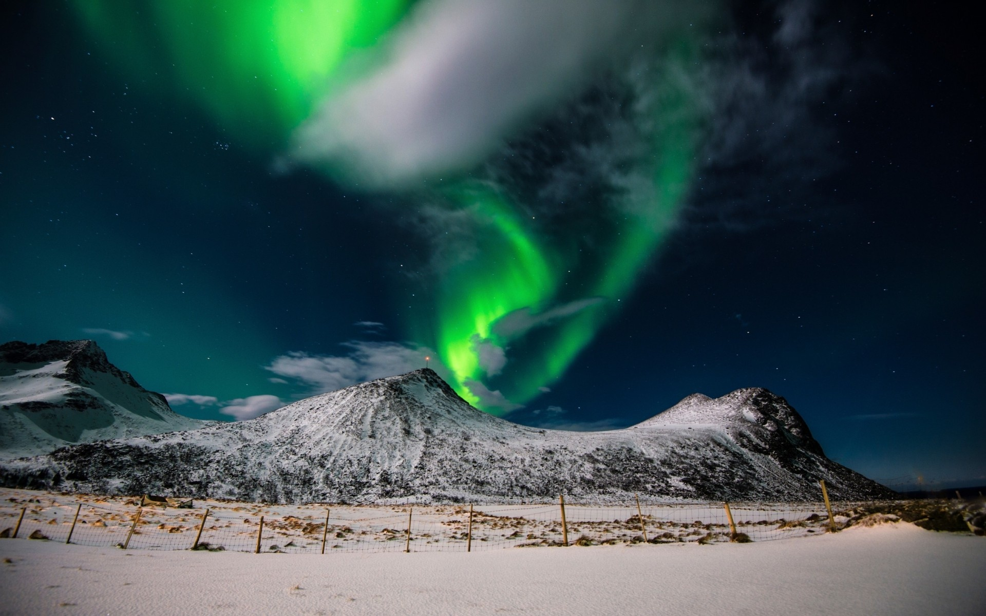 landscapes nature snow landscape outdoors moon sky astronomy travel water winter light aurora borealis northern lights