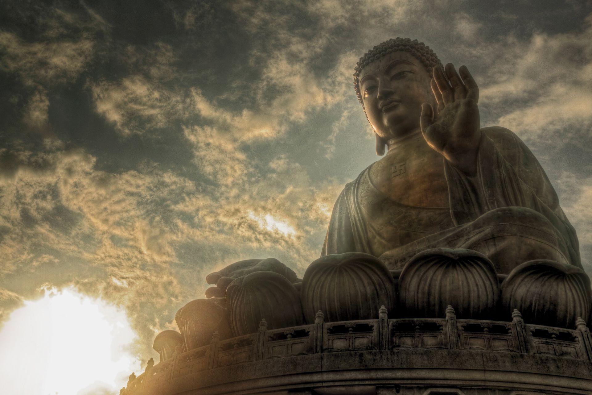 Статуя город небо без смс