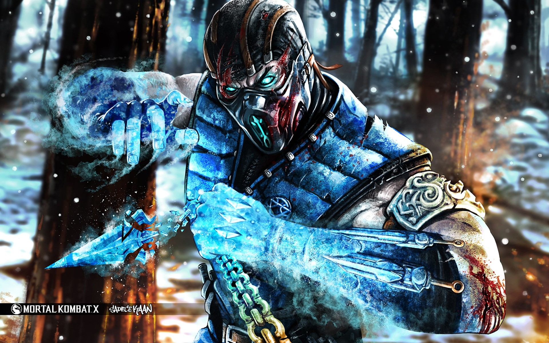 Mortal Kombat X Subzero Iphone Wallpapers For Free