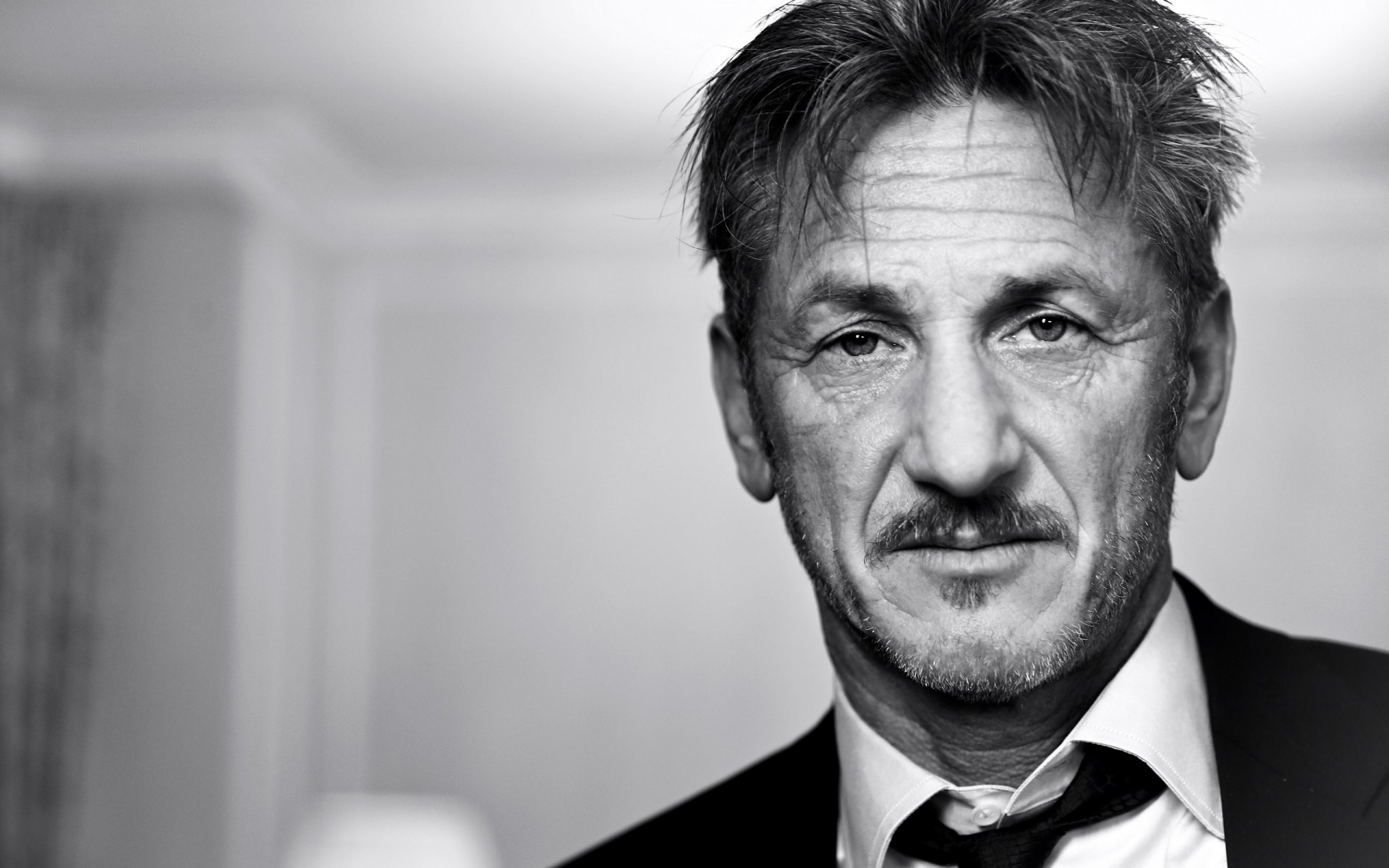 men portrait man one adult sean penn actor