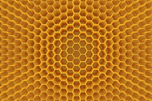 Abstract Honeycomb Structure