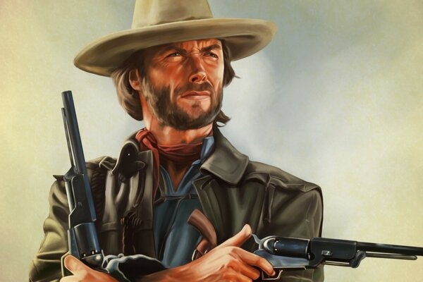 Clint Eastwood Artwork