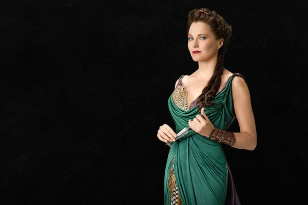 Lucretia Spartacus Blood and Sand
