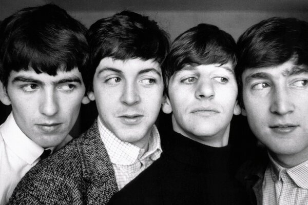 The Beatles Black and White