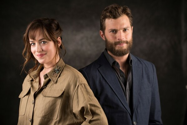 Dakota Johnson and Jamie Dornan