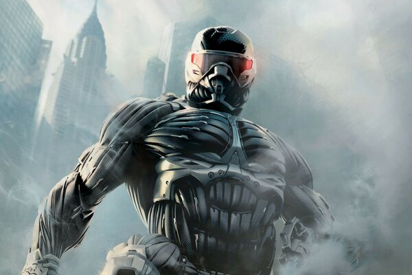 smoke city crytek crisis 2 Crysis