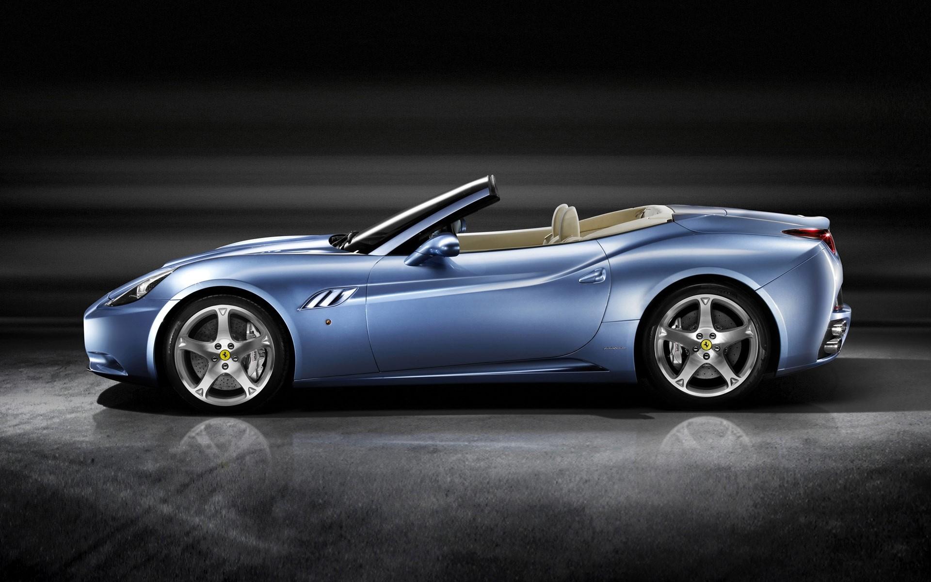 Ferrari California Blue Iphone Wallpapers For Free