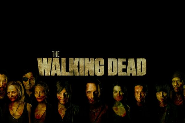 The Walking Dead Poster Art