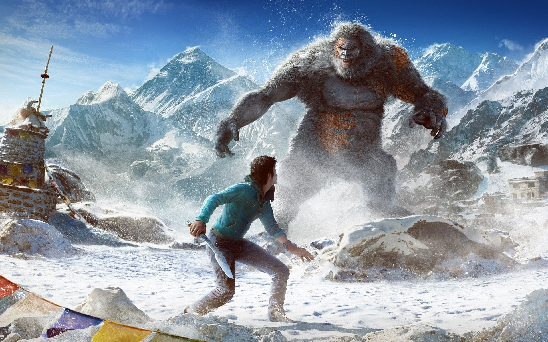 Far Cry 4 Valley Of The Yetis Android Wallpapers