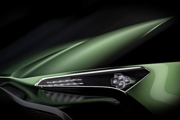 Aston Martin Vulcan Headlight