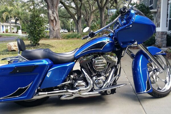 Custom Harley Road King