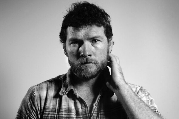 Sam Worthington Black and White