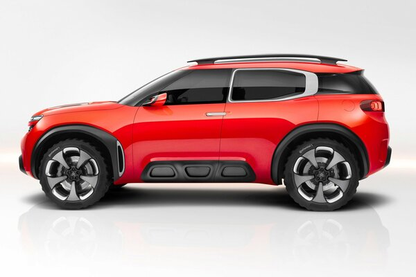 Side of Citroen Aircross Concept