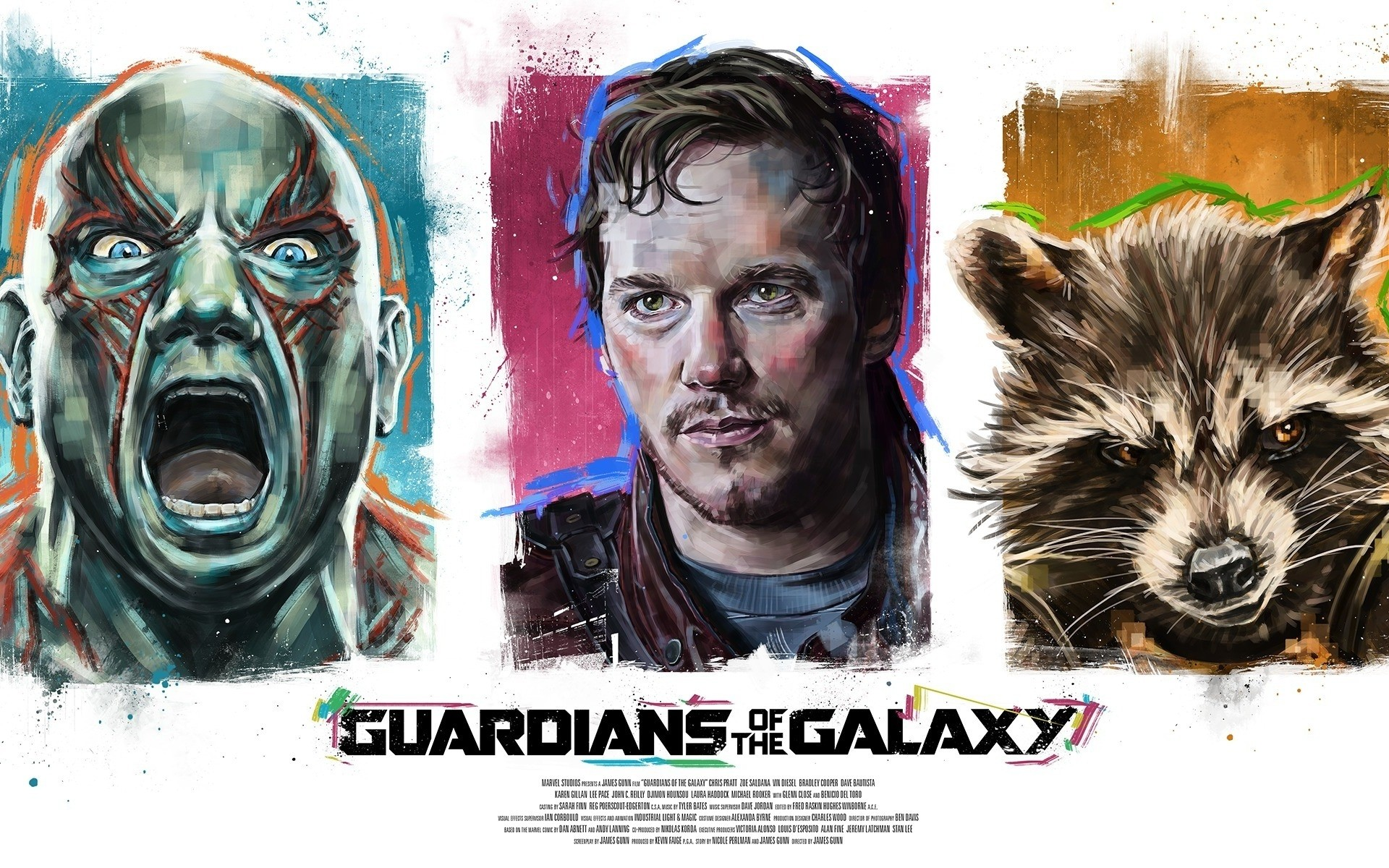 movies portrait animal horizontal art friendship guardians of the galaxy poster artwork