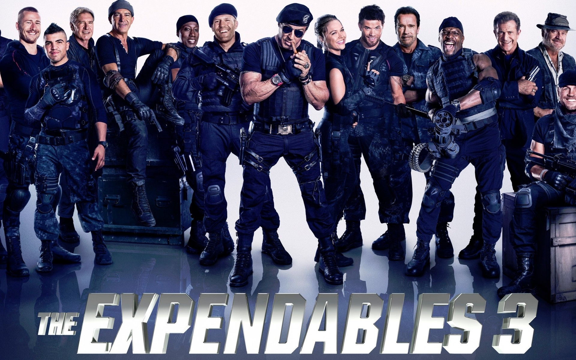 movies man military squad football competition police offense group uniform the expendables 3 sylvester stallone jason statham arnold schwarzenegger jet li antonio banderas wesley snipes dolph lundgren